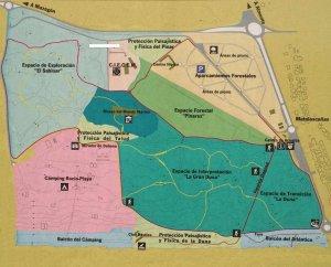 Localización Parque Dunar