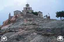 Plutón granítico en la Sierra de Andújar