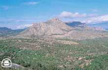 Macizo calizo de la Sierra del Gigante