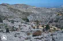 Paisaje kárstico de la Sierra de las Nieves