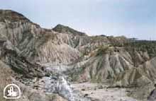 Paisaje erosivo (Bad - Lands) del Desierto de Tabernas