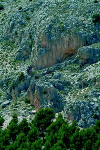 Entrada al Tajo de las figuras (P.N. Sierra Mª-Los Vélez)