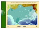 Precipitación del periodo 1961-1990.Febrero
