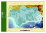 Precipitación del periodo 1961-1990.Marzo