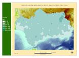 Precipitación del periodo 1961-1990.Mayo