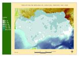 Precipitación del periodo 1961-1990.Junio