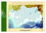 Precipitación del periodo 1961-1990.Septiembre