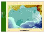 Precipitación del periodo 1961-1990.Diciembre