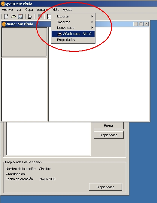direccion servidor wms: