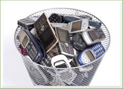 Puntos de recogida de móviles