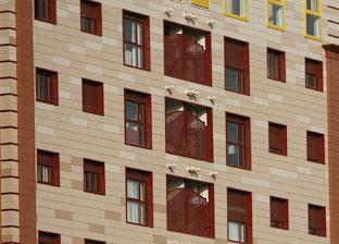 Bloque de viviendas en una población andaluza.
