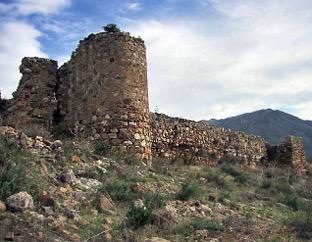Castillo de Zalia, en Alcaucín.