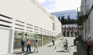 Proyecto del nuevo mercado de Sanlúcar de Barrameda.