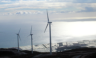 Andalucía cuenta con 127 parques eólicos.
