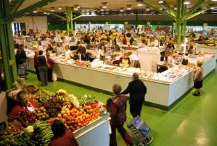 Mercado de abastos de Almería.