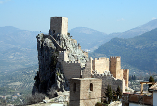Castillo de La Iruela (Jaén).