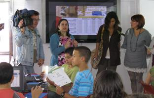Actividades en el Bus de la Conciliación.