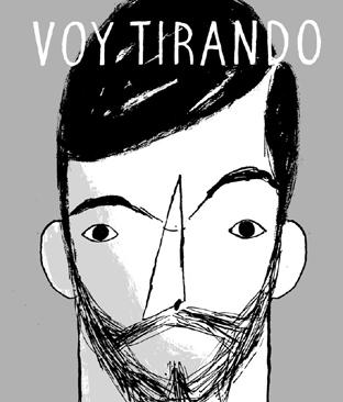 Portada de la obra 'Voy tirando', de Daniel Diosdado.