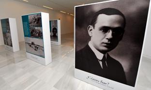 Las exposiciones dedicadas a Blas Infante han centrado algunos de los actos.