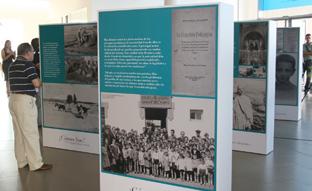 Una de las exposiciones sobre el Padre de la Patria Andaluza.