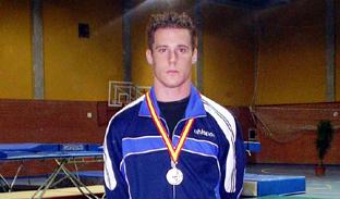 El gimnasta Sergio Macías.