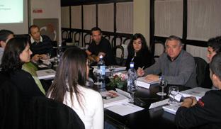 Participantes en una de las iniciativas de formación.
