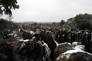 El Parque de la Sierra Norte cuenta con una gran riqueza geológica.