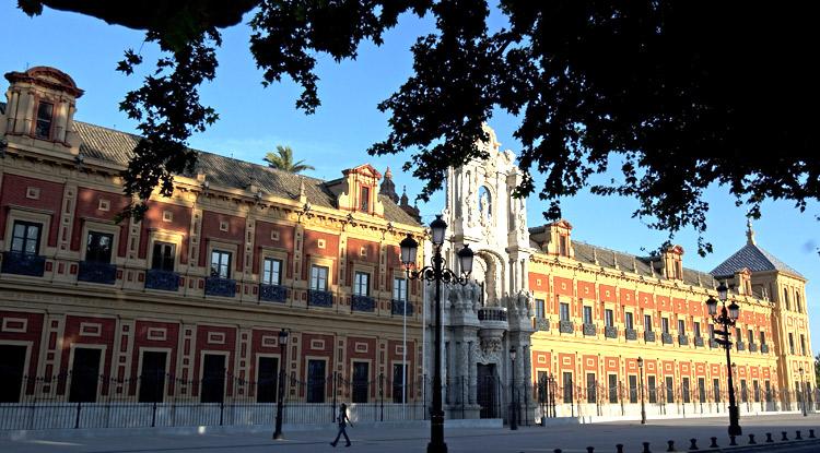 Instituciones de la comunidad aut noma de andaluc a for Sede de la presidencia de la comunidad de madrid