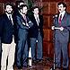 Rodríguez de la Borbolla pronuncia su discurso de investidura ante los miembros de su Gobierno.