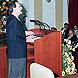 Primer discurso de investidura de Manuel Chaves como presidente de la Junta ante el Parlamento autonómico.