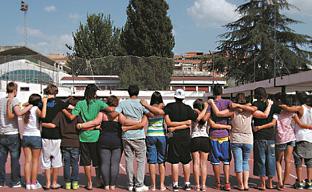 Cartel de la Escuela de Igualdad celebrada durante el verano de 2012 en Sevilla.
