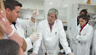 El centro Ifapa de Hinojosa del Duque forma y asesora a profesionales agroganaderos.