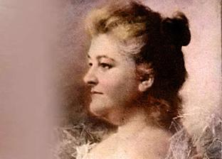 La escritora Emilia Pardo Bazán.