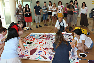 Participantes en el programa 'La Juventud en Acción'.