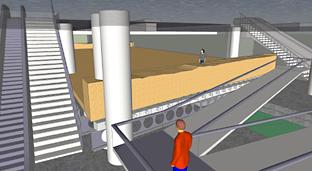 Proyecto de apertura de un espacio temático en la estación Alcázar Genil.