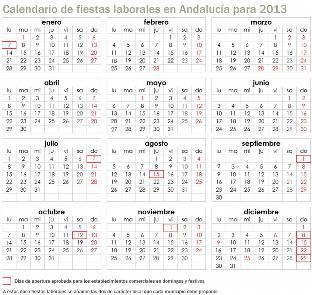 Puerto Rico Calendario Laboral 2014