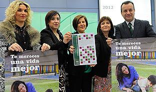 La consejera de Igualdad Salud y Políticas Sociales ha presentado el Informe Anual de la Violencia de Género 2012.