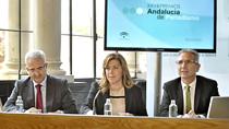Acto de entrega de los XXVIII Premios Andalucía de Periodismo