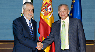 Jos Antonio Grin y Augusto Zamora.