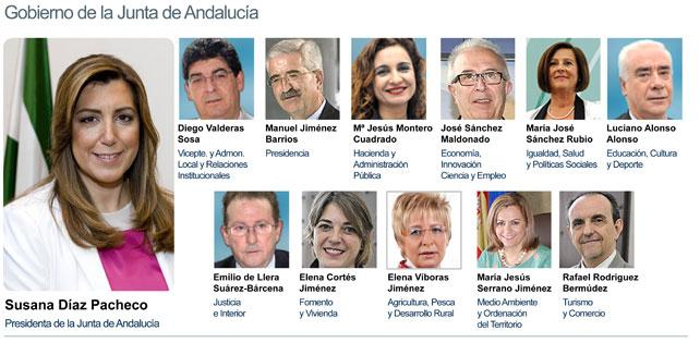 Susana D Az Nombra A Los Consejeros Del Nuevo Gobierno