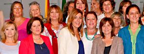 Susana Díaz garantiza que el presupuesto de la Junta seguirá situando la igualdad en primera línea de la agenda política