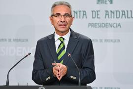 Miguel Ángel Vázquez detalló el nuevo modelo de gestióñn de los consorcios escuela de FP para el Empleo.