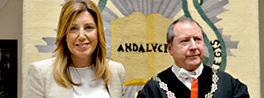 Susana Díaz reitera su compromiso con el Consejo Consultivo y rechaza la supresión de organismos de control autonómico