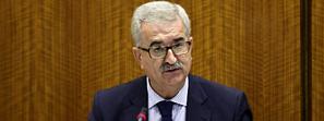 Jiménez Barrios destaca que el Gobierno andaluz lleva años