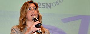 Susana Díaz apuesta por movilizar todos los recursos necesarios en la lucha contra la violencia de género