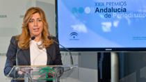 Intervención de Susana Díaz en la entrega de los XIX Premios Andalucía de Periodismo