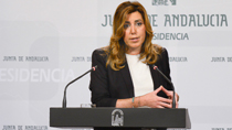 Intervención de Susana Díaz sobre el plan de inversiones de la Unión Europea