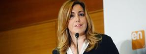 Susana Díaz defiende que el Gobierno andaluz demuestra que se puede cumplir con la estabilidad presupuestaria y con las personas