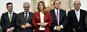 Susana Díaz apuesta por fortalecer el sector marítimo-naval de Cádiz y convertirlo en el referente del Sur de Europa