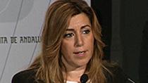 Intervención de Susana Díaz en la entrega de los Premios Andalucía Joven